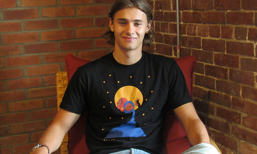 Torsten Brinkema is a sophomore at Colby College and the founder of Weart, a startup that supports young artists who are struggling to access a large audience to turn their passion of creating art into a profitable experience. Every two months, Weart features one of these young artists and produces products, mostly apparel items, with their artwork. Click here to check out the artist features and great t-shirts.