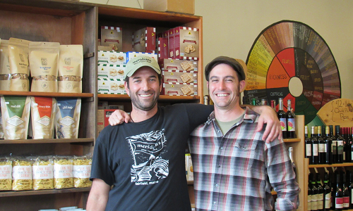 David Gulak & Josh Sullivan, co-founders and co-owners of Meridians and Meridians Kitchen & Bar in Fairfield. Click to learn more about Meridians.