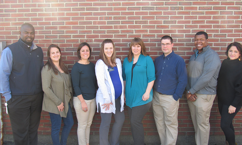 The KV Connect Steering Committee is comprised of [left to right]: Phil Bofia, Heather Thorne, Katie McCabe, Courtney Squire, Molly Woodward, Jeff Ferguson, Sean Conerly, and Samantha Burdick. Click here to learn more about KV Connect.